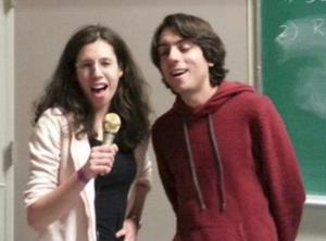 Netta Engelhardt and Sebastian Fischetti
