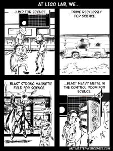 LIGO PEM physics environment modelling comic