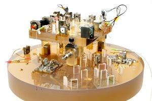 LISA optical bench testbed