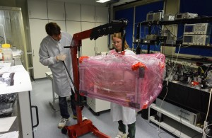 Maike Lieser and Sönke Schuster unpack the LISA optical bench testbed