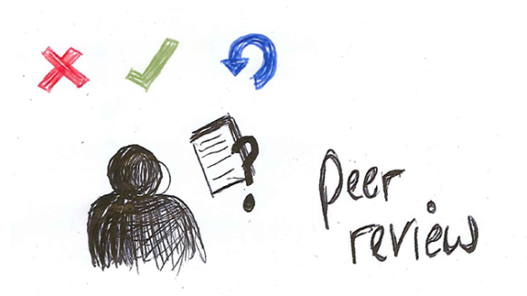 Peer review sketch