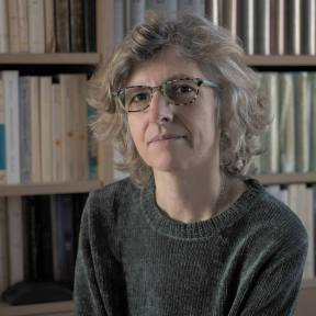 Mairi Sakellariadou is a professor of theoretical physics at King's College London and a member of the LIGO Scientific Collaboration. She is also Chair of the Gravitational Physics Division of the European Physical Society.